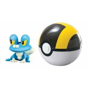 Pokemon Clip 'N' Carry Ultra Ball - Froakie